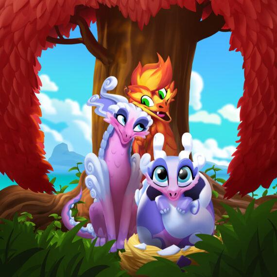 """Coverbild zum Mobilegame """"Wonderlings"""" von Wooga"""