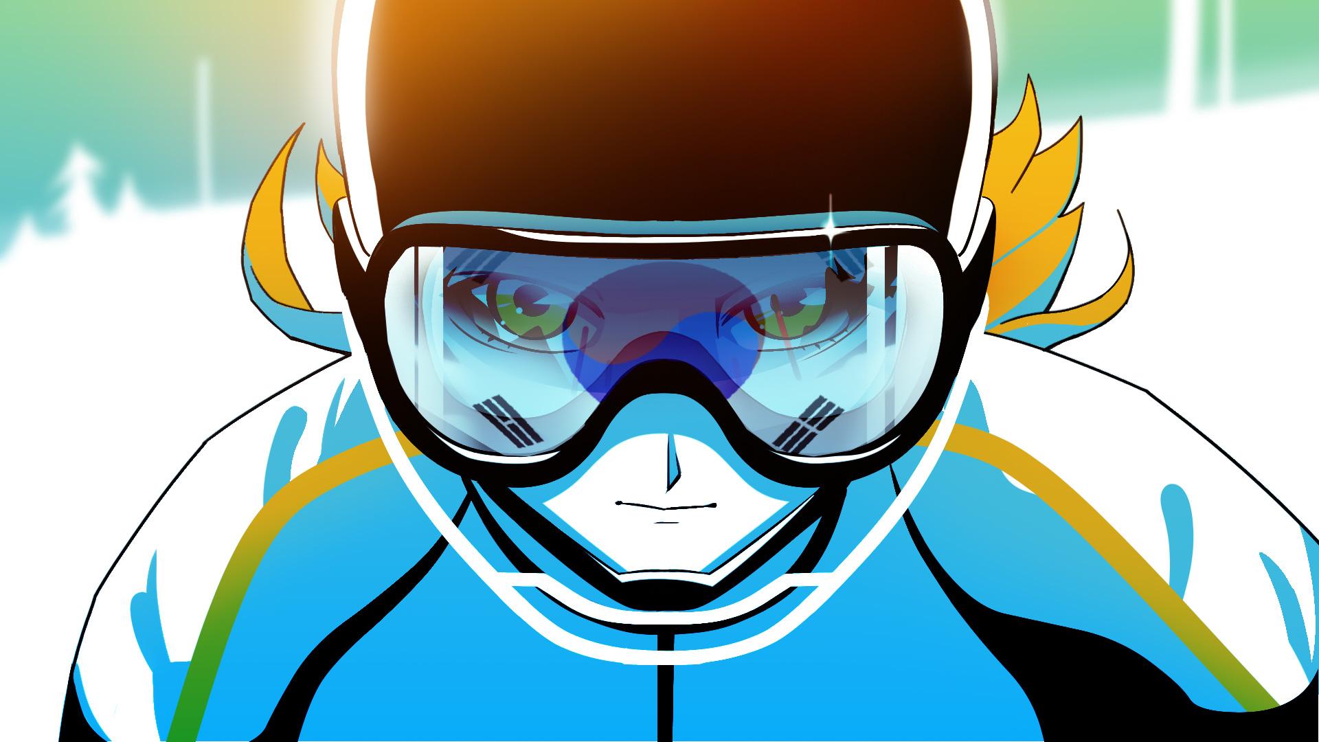 1 von 7, Styleframe erstellt als Teil eines Pitches zur ZDF Winterolympiade zusammen mit Bitteschön.TV