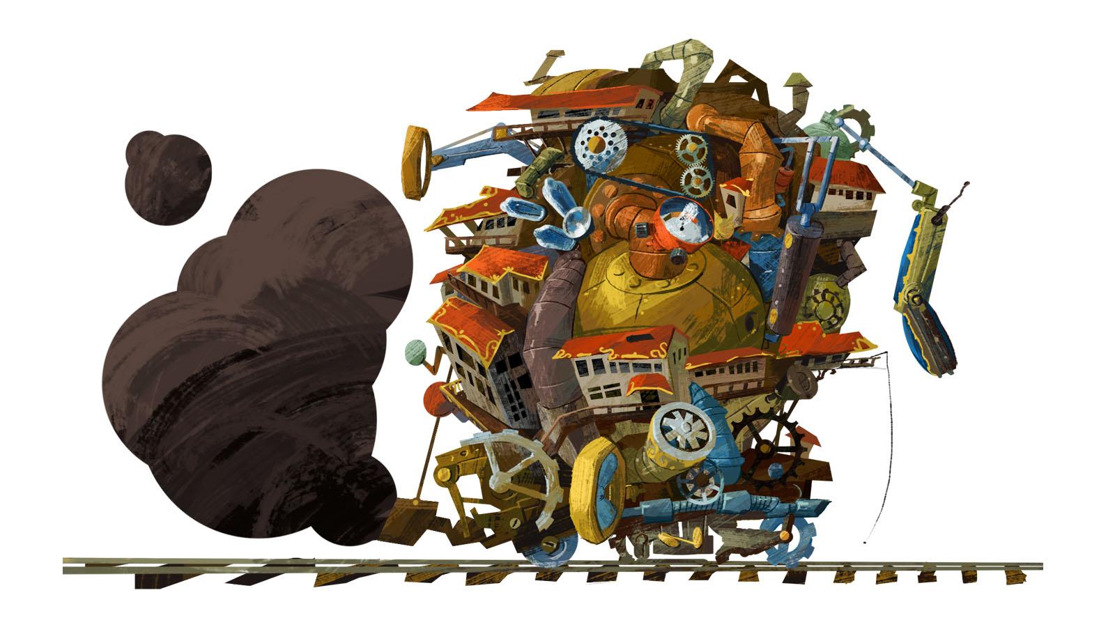 Plato 3000 von Cambridge Games Factory, Motiv: Dystopie